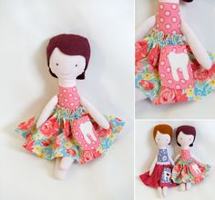 Tooth Fairy Doll tutorial from Samantha Liz for Sew Mama Sew