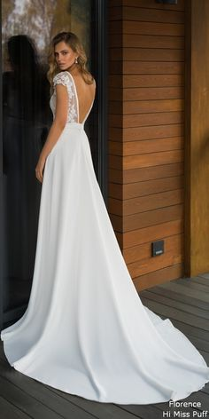 Florence 2019 Despacito Collection Wedding Dress by Florence Wedding Fashion 2019 Despacito Bridal Collection Backyard Wedding Dresses, Wedding Dresses For Girls, Bridal Dresses, Wedding Gowns, Girls Dresses, Wedding Ceremony, Lace Wedding, Crystal Wedding, Mermaid Wedding