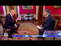 FULL: President Trump Hannity Interview In The White House 1/26/17 - YouTube