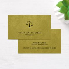 Lawyer luxury black scale golden leather look business card - attorney lawyer business personalize unique counsel