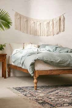 Bohemian Platform Bed | Urban Outfitters | Home & Gifts | Furniture | New In