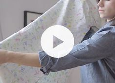 How to Wrangle a Fitted Sheet | Home + Garden | PureWow National