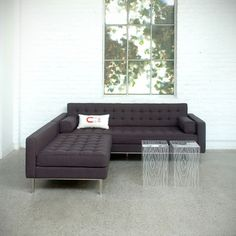 Bought him today... Eeep! Living large with employee discounts! | Gus Modern Spencer LOFT Bisectional #YLiving
