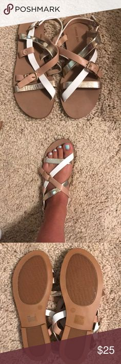 fff6ad59eed GIANI BINI SANDALS GIANNI BINI SANDALS - never worn - size 9.5 but fit more  of a 9 Gianni Bini Shoes Sandals