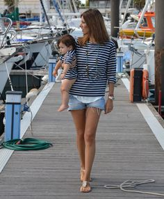 Blog da Carlota Blog Da Carlota, Nautical Fashion, Nautical Style, Kids Fashion, Womens Fashion, Mother And Child, Style Me, Ready To Wear, Ideias Fashion