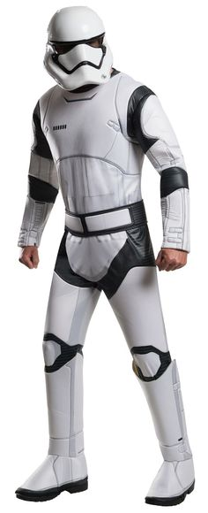 Check out Star Wars Episode VII Deluxe Stormtrooper Costume - Star Wars Mens Costumes from Wholesale Halloween Costumes Star Wars Sith, Clone Wars, Star Wars Dark, Star Wars 7, Adult Costumes, Halloween Costumes, Costume Ideas, Costume Paris, Carnival