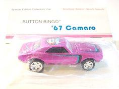 Hot Wheels 9th Collectors Convention Button Bingo '67 Camaro