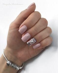 What you need to know about acrylic nails - My Nails Gelish Nails, Nude Nails, Nail Manicure, My Nails, Blush Pink Nails, Shellac, Pale Pink, Gel Nail Art, Nail Polish