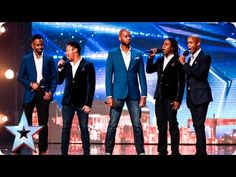 """With Simon back in his Judging seat, vocal group Vox Fortis are ready and waiting for his approval! With Amanda stating that they look """"amazing"""", can the five-piece live up to everyone's expectations? Bgt 2016, Britain's Got Talent, Vocal Coach, Beautiful Songs, Faith In Humanity, Real Beauty, Hollywood Stars, Black People, Music Videos"""