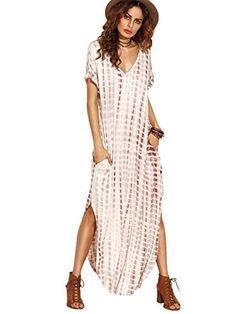 MakeMeChic Casual Maxi Short Sleeve Split Tie Dye Long Dress MakeMeChic, http://www.amazon.com/dp/B01LECXYDC/ref=cm_sw_r_pi_dp_x_8pKDzb2M9K0NN