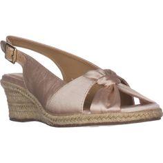 Bella Vita Seraphina II Espadrille Wedge Sandals, Natural    #sandals #heels #wedges #espadrilles #spring #springoutfits #springstyle #springfashion #shoes #shopping #style #trending #womensfashion #fashion