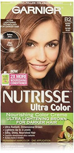 Garnier Nutrisse Ultra Color Nourishing Color Creme, B2 Reddish Brown * You can get additional details at http://www.amazon.com/gp/product/B000V02E9O/?tag=passion4fashion003e-20&kl=010816000245