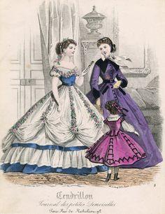 January, 1866 - Cendrillon (journal des petites filles)
