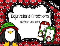 I took Krista Wallden's s-ELF-less challenge to create a free product using her latest clip art from her Operation Elf giveaway and came up with this activity. I'm very excited to be able to share this with you and hope your students enjoy it. Students will work as a group to sort the cards and place them on the number line in the correct place.