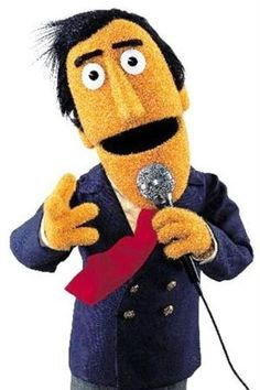 Guy Smiley, said to be modeled after New Jersey native and game show host Jim Perry, host of the NBC's $ale of the Century in the 1980s (among other shows).