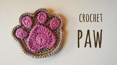 Hi! In this video I'm going to show you how to crochet a supercute paw! I'm italian, so probably in this video I speak Ital-English, but I'll try to be as understandable as possible!  Fingertips pattern:   ... . Crochet, How, Crochê,