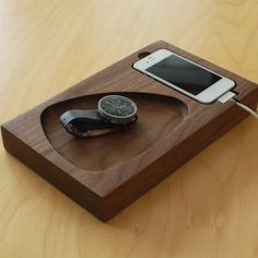 Timber Tray - Docking Station