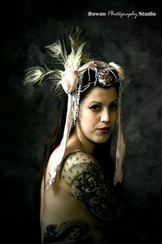 The Boudoir Crown SALE by blackorchiddesignsca on Etsy, $120.00