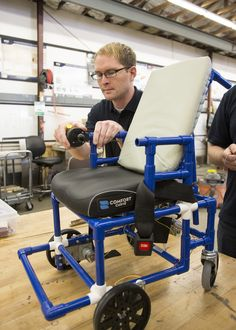 BYU students make the world's lightest, least expensive  motorized wheelchair - plans for building the chair are open source and available at www.OpenWheelChair.org.