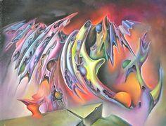 R.S.Beal SURRE'ALISTE - Altered States - Graphics - Oils - Intaglio