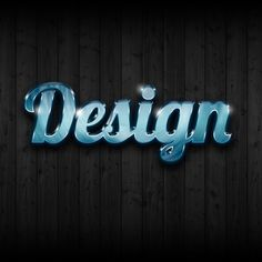 Photoshop Quick Tip: Ultra Glossy Text Effect