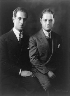 """Ira was """" the jewler"""" because of how well he set lyrics to music. George wrote that music. In order to have a successful show, the show needs to be blessed with a great composer and lyricist. George and Ira Gershwin - composers"""