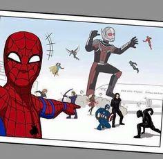 Spider selfie