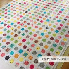WIP Wednesday--the circle edition | crazy mom quilts | Bloglovin'