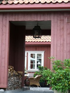 A house in Drobak, Norway. French and Swedish furniture, raw wood, and pastels.- Inspiring Interiors