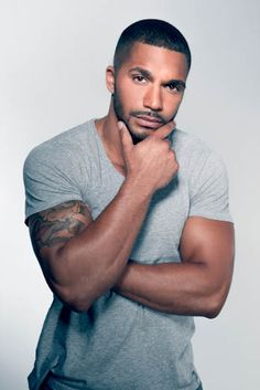 Posts about Tyler Lepley The Haves and the Have Nots written by underneathestarz Gorgeous Black Men, Handsome Black Men, Beautiful Men, Gorgeous Guys, Beautiful People, Hot Black Guys, Hot Guys, Tyler Lepley, Hunks Men