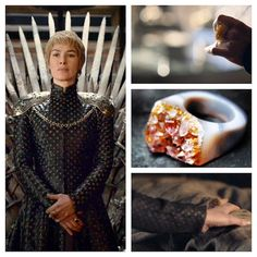 Own Cersei Lannister's GemFire Ring From The Season 6 Finale Of 'Game Of Thrones' Cersei Lannister Aesthetic, Queen Cersei, Casterly Rock, 16th Century Clothing, Game Of Thrones 3, Ring Game, Ring Shapes, Amber Color, Cosplay Outfits