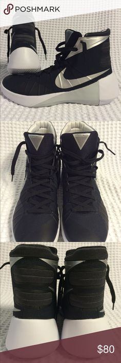 Nike Hyperdunk 2015 BRAND NEW, NEVER WORN Nike Hyperdunk 2015 in Black and White. SIZE is a Men's 12. Retails for $130 asking $80. If you're interested or have any questions, message me or text me at 5O3 47nine 7five98  Tags: Kicks, Tennis shoes, Jordan's, Nike, Adidas, Kobe, Hoodie, Sweatshirt, Jacket, zip-up, Cleveland Cavaliers, Cavs, Portland Trail Blazers, Basketball, Air Max, LeBron James, Kevin Durant, NBA, NFL, Kicks, Dame, Steph Curry, Kobe Bryant, Black Mamba, Under Armor, King…