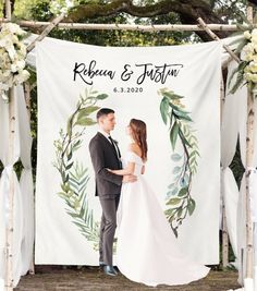 Greenery Wedding Backdrop Wedding Arch Decor Rustic Wedding | Etsy