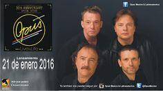 "OPUS - ""Live Is Life"" (México): OPUS""30th Anniversary Live is Life"" release 21-en... 30th Anniversary, Live, Blog, Blogging"