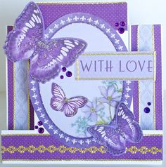A step card by Kelly-ann Oosterbeek made using the Fairy Dust Collection from Kaisercraft. www.amotehrsart.com.au Fairy Dust, Fairy Land, Stepper Cards, Butterfly Cards, Dust Collection, Cardmaking, Originals, Ann, Projects To Try