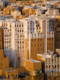 Yemen - Shibam The oldest skyscrapers