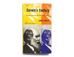 """George Giusti book cover design, 1961. """"Darwin's Century"""" by Loren Eiseley by NewDocuments on Etsy"""