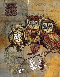 Very cute.  I love owls.