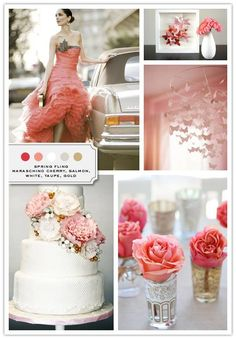 Inspiration Board: Spring Fling - Inspired Bride