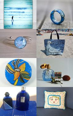 Blue Note by carole on Etsy--Pinned with TreasuryPin.com
