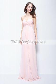 Jennifer Lopez Pink Evening Dress In the movie 'Maid In Manhattan' - TheCelebrityDresses
