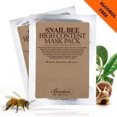 Benton, Pack & Mask, Sheet Mask