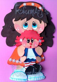 Menina com boneca