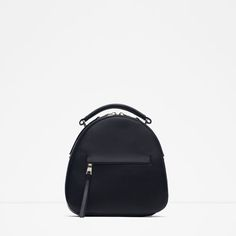 Image 1 of Backpack with zip from Zara