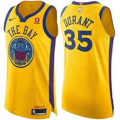 Golden State Warriors Nike Men s Chinese Heritage Kevin Durant  35  Authentic On Court City Edition e3556718a