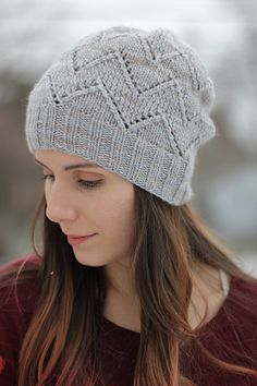 Great hat knit in Manos Maxima