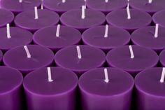 Purple Candles, Purple Stuff, Tea Lights, Color, Inspiration, Biblical Inspiration, Tea Light Candles, Colour, Purple