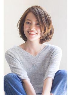 《Ramie》大人女子×愛され小顔シルエットボブ(寺尾拓巳) - 24時間いつでもWEB予約OK!ヘアスタイル10万点以上掲載!お気に入りの髪型、人気のヘアスタイルを探すならKirei Style[キレイスタイル]で。