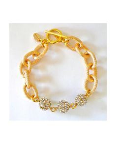 Gold Charm Bracelet - JewelMint