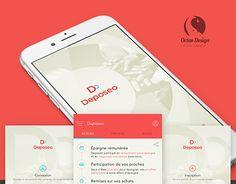 "Check out new work on my @Behance portfolio: ""Deposeo app iOs""…"